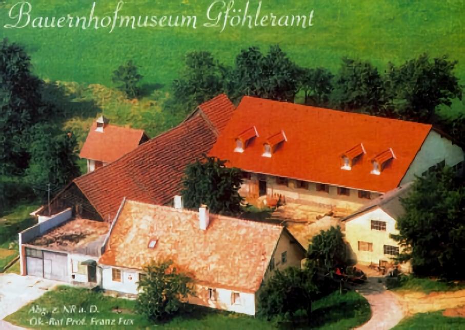 Luftbild Bauernhofmuseum Gföhleramt